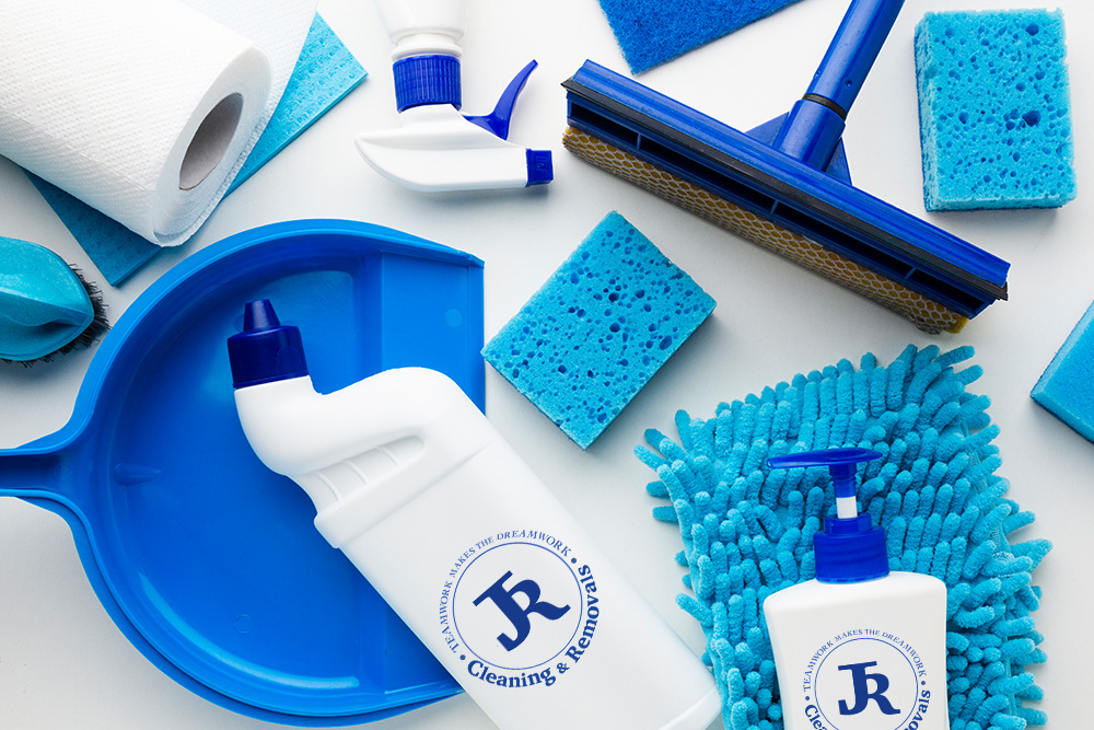 JR branded cleaning products