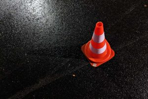 Health and Safety cone - JR cleaning and removals - Sheffield, Rotherham and rest of South Yorkshire