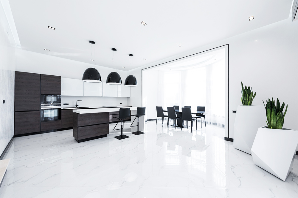 modern home - how to clean after building work - jr cleaning and removals